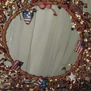 Americana Pipberry Vine Wreath